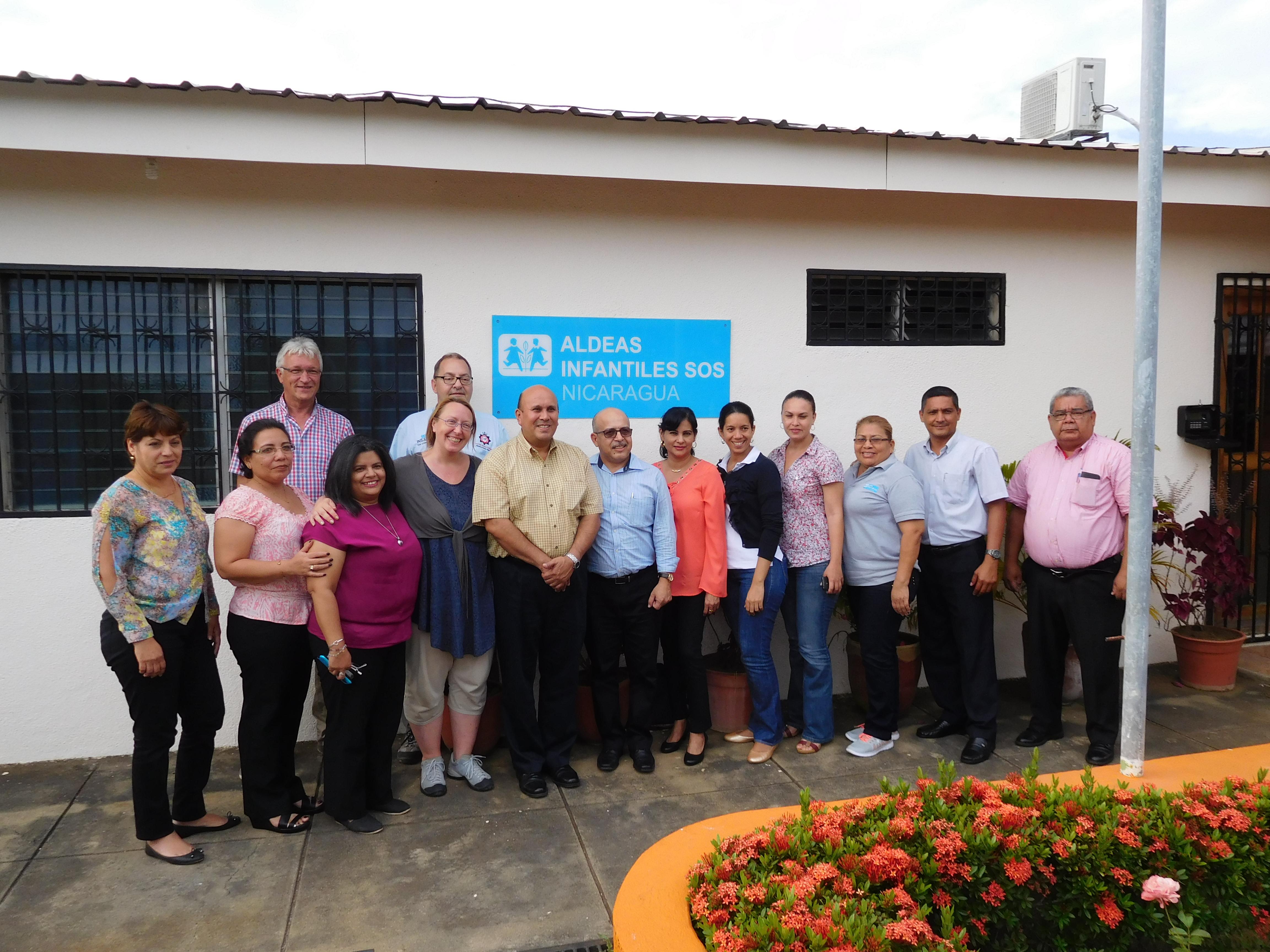 Vor Ort in Nicaragua