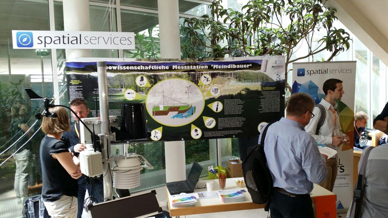 Ausstellungsstand Spatial Services
